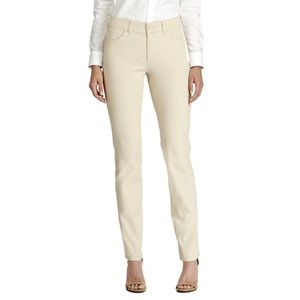 CHAPS Twill Mid-rise Straight Leg Pant / 4